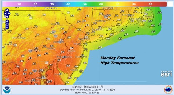 Beautiful Spring Friday Ahead of  Memorial Day Weekend