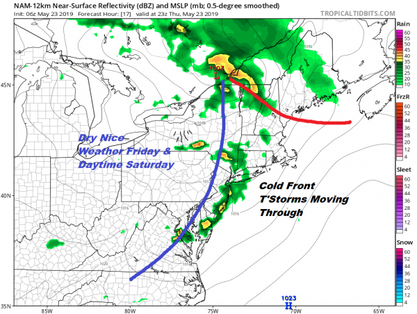 Severe Weather Risk Thunderstorms Late Today Evening Memorial Day Holiday Weekend Outlook