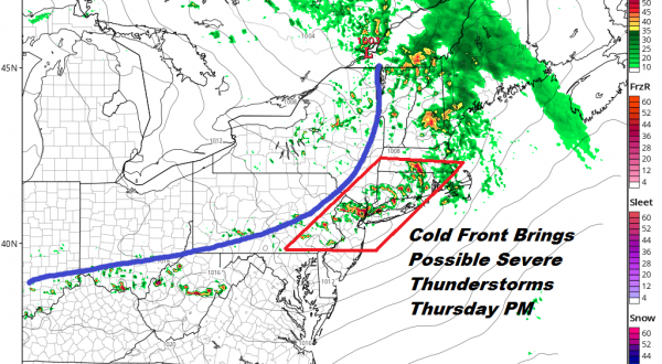 Severe Weather Threat Late Thursday Memorial Day Holiday Weekend Forecast