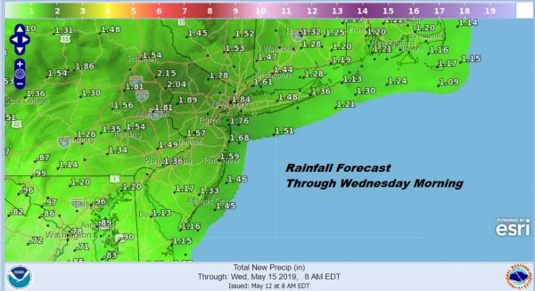 Mother's Day Rain Raw Cold More of the Same Monday