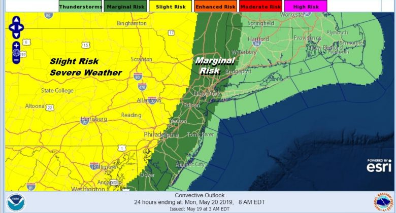 Spring Day Clouds Sun Thunderstorms Tonight Severe Weather Risk