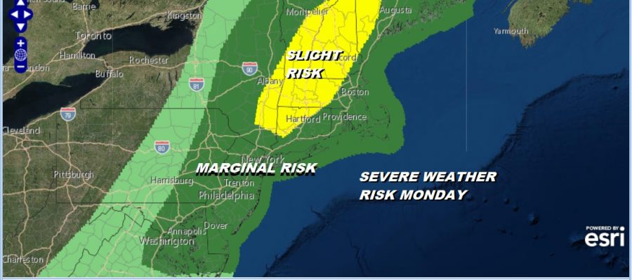 Severe Weather Risk Very Warm 80s Cooler Tuesday & Wednesday