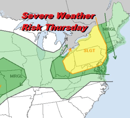 Severe Weather Risk Late Thursday, Memorial Day Weekend Looking Better