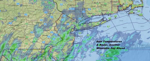Another Miserable Day Rain Raw 40s Hope Lies Ahead For Improvement