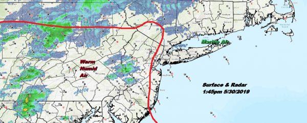 Severe Thunderstorm Watch Pennsylvania New Jersey Southward