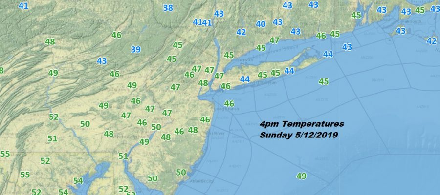 Temperatures Just In The 40s, Another Wave Arrives Monday