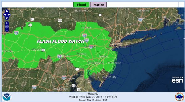 Flash Flood Watch Enhanced Severe Weather Risk Expanded