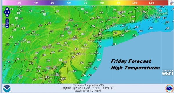 Nice Weather Friday Saturday Dry Air Holds On Sunday