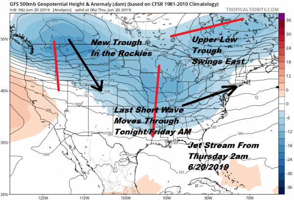 Long Range Next Week Better Weather Ahead Jet Stream Changes