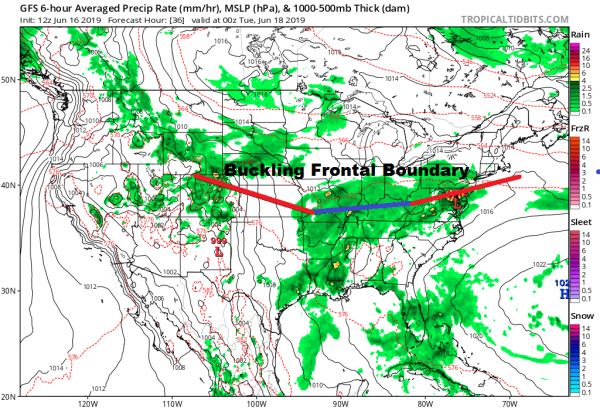 Thunderstorms This Evening Busy Weather Week Ahead Threats All Week Long