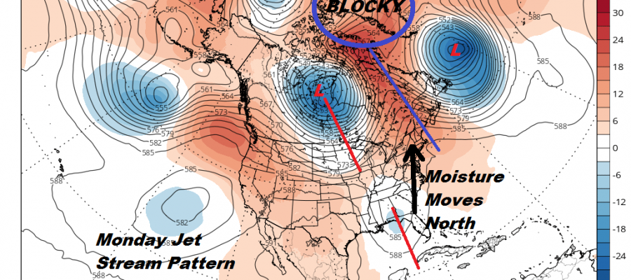 Next Week's Weather Not Looking Good Active Pattern