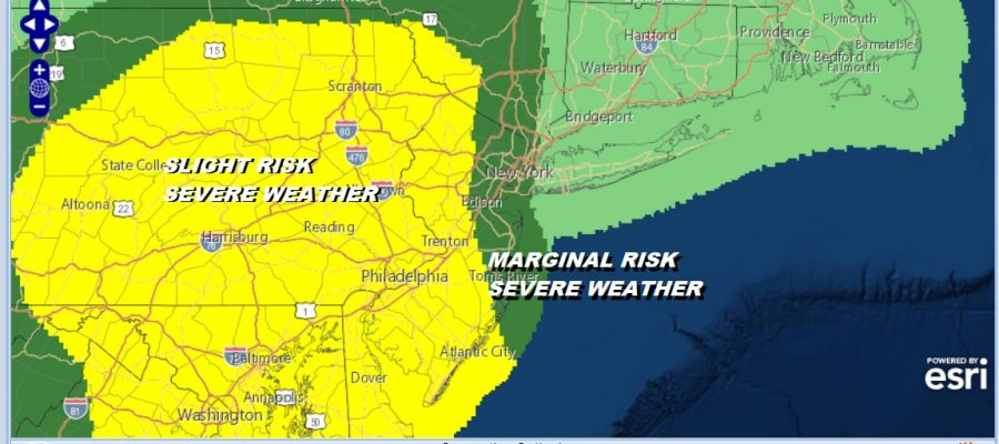 Severe Weather Risk Today Thunderstorms Nice First Summer Weekend