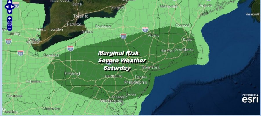 Great Summer Weather Moderate Humidity Severe Weather Risk Late Saturday