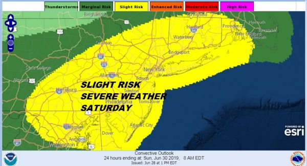 Summer Weekend Hot Saturday Severe Weather Possible Less Humid Sunday
