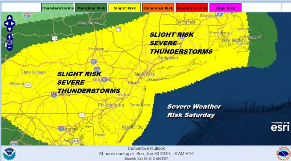 Steamy Saturday Weather Hot Humid Severe Thunderstorms Possible