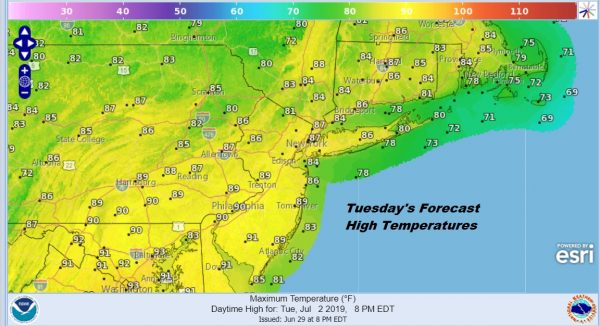 Second Cold Front Arrives Later Today Week Ahead Weather Forecast