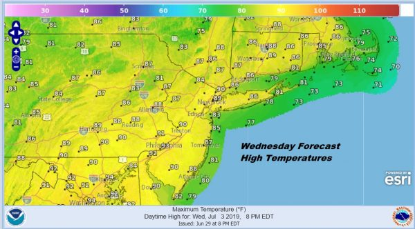 Summer Weather Continues Occasional Thunderstorm Threats Hot Humid