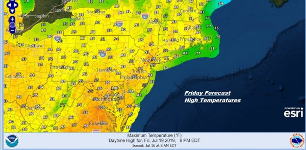 Heat Humidity Increase Thunderstorms Late Wednesday Thursday Very Hot Weekend