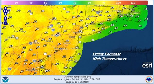 Short But Brutal Heat Humidity Friday Into Monday