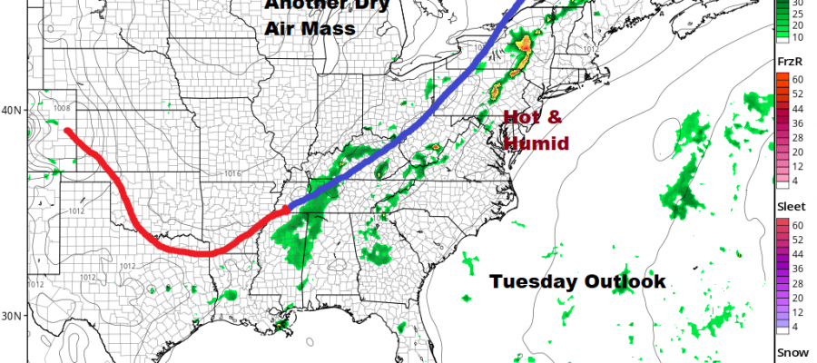 After Relative Calm More Active Weather Pattern Lies Ahead