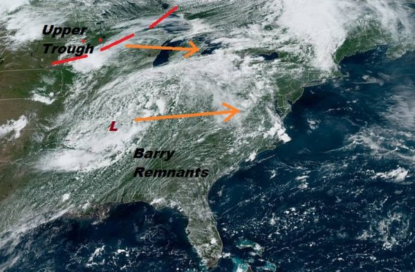 Excessive Rainfall Severe Weather Risk Wednesday Hot Steamy Thunderstorms