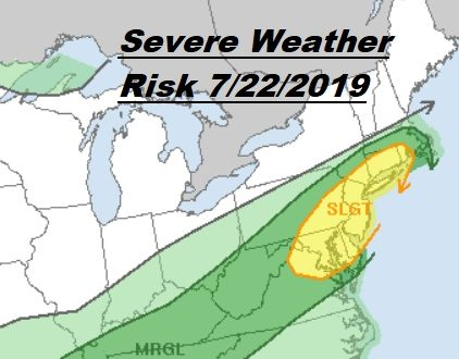 Severe Weather Risk Flash Flood Risks Late Today Into Tuesday