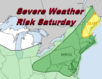 Severe Weather Risk Late Today Lower Humidity Arrives Late Sunday Monday
