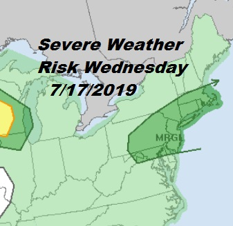 Heat Humidity Increase Thunderstorms Late Wednesday Thursday Very