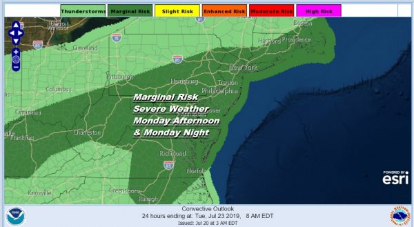 Heat Humidity Thunderstorms Late Monday Real Relief Tuesday Through Thursday