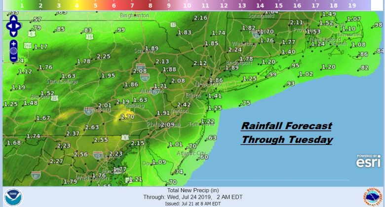 Another Brutally Hot Day Severe Weather Risk Later Monday
