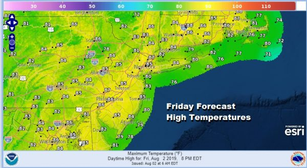 Sunshine & Clouds Weekend Looks Mostly Dry Warm