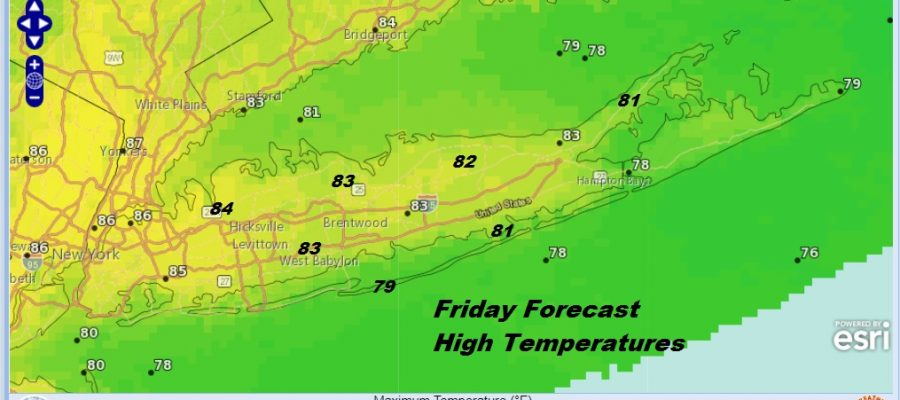 Long Island Weather First Weekend of August Typical August Weather