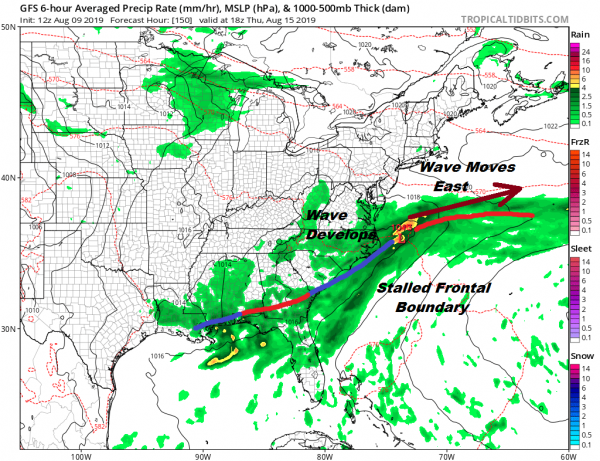 Tropical Activity May Pick Up Late Next Week