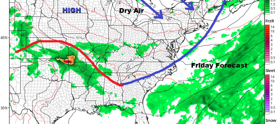 Dry Air About to Arrive Very Warm Thursday Beautiful Weekend