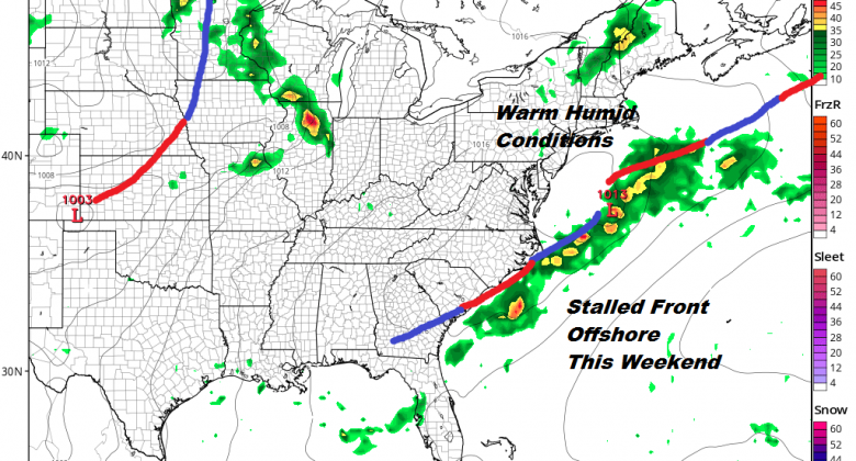 A Cloudy Rainy Afternoon & Evening, Severe Weather Threat Reduced Further