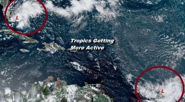 System Off Florida Coast Better Organized Could Become A Tropical Depression Saturday