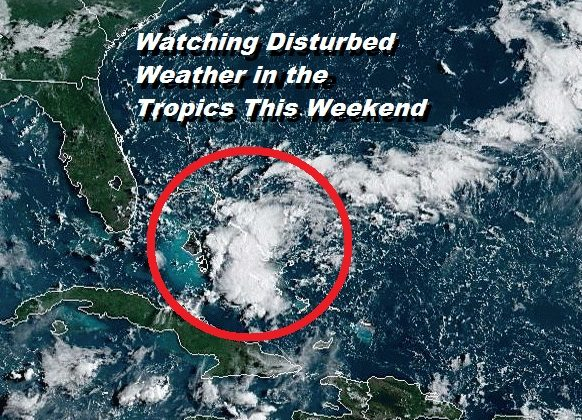 Tropics May Be Getting Ready to Rev Up