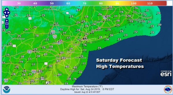 Skies Clear Overnight Sunshine Saturday Some Clouds Sunday