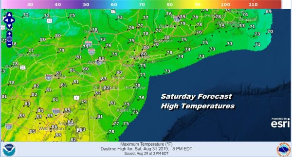Our Nice Weather Continues Into the Weekend