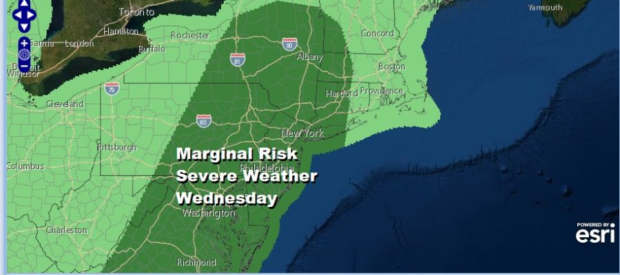 Warmer More Humid Severe Weather Risk Expands Wednesday