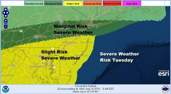 Beautiful Sunday Changes Start Monday Severe Weather Risk Tuesday