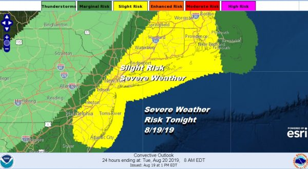 Severe Weather Risk This Evening Humidity Relief Coming Friday