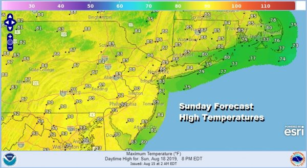 August Dog Days Rolling Along High Humidity Heat Arrives Sunday