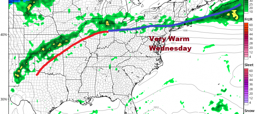 Watching For A Passing Shower or Thunderstorm Otherwise Back to Sunshine Sunday