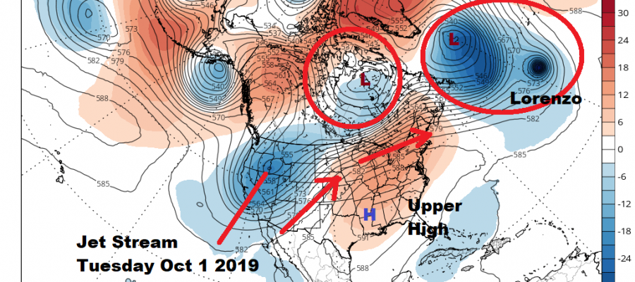 Weak Cold Fronts Mostly Nice Weather Into Next Week