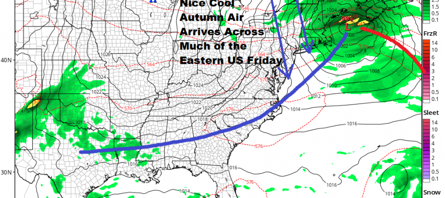 Clouds Rolling In Ahead of Midweek Heat Then Cold Front Follows