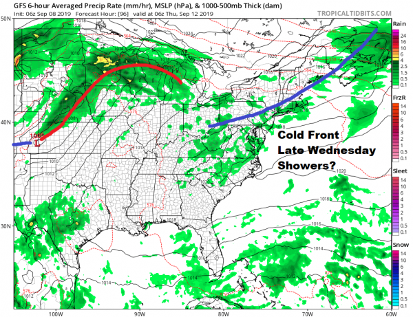 Clouds Around Today Calm Weather Into Wednesday