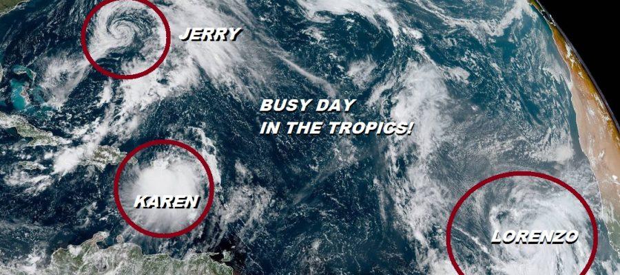 Tropical Storm Warning Puerto Rico Virgin Islands Karen Nears Jerry Nears Bermuda