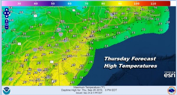 A Good Looking Weather Day Ends Another Follows Wednesday