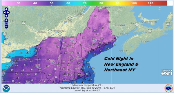 Coldest Night in Months Great Weather Continues Summer Weekend Ahead